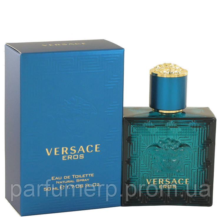 Versace Eros Men 50мл (Версаче Эрос Мужские) - Оригинал!
