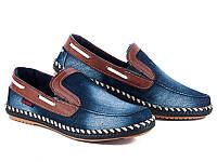 Мужские стильные модные джинсовые мокасины оптом от производителя Cinar 029M(8пар 40-44)