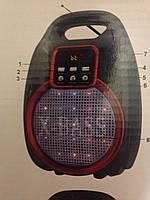 Колонка-комбик GOLON RX-820 BT Bluetooth + MP3, радиомикрофон, пульт, цветомузыка, 30W