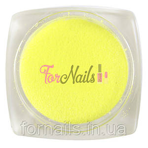 Komilfo бархатный песок 003 (желтый неон), 2,5 грамма
