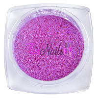 Komilfo бархатный песок 005 (ярко-розовый неон), 2,5 грамма