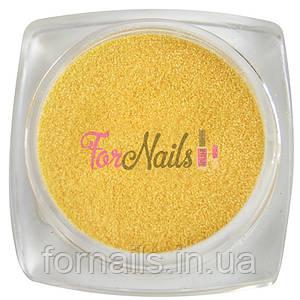 Komilfo бархатный песок 007 (светло оранжевый неон), 2,5 грамма