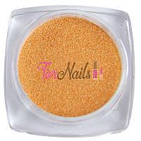 Komilfo бархатный песок 009 (оранжевый неон), 2,5 грамма