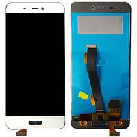 Дисплей (экран) для Xiaomi Mi5/Mi5 Pro ксиоми + тачскрин, цвет белый