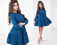 Платье женское морская волна ТК/-3012