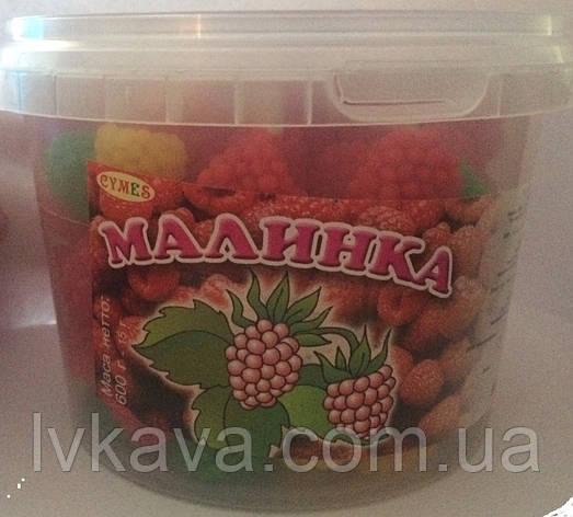 Жевательные конфеты Малинка Жувасики  , 450 гр, фото 2
