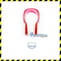 Беруши для плавания прозрачные + розово-красная клипса. ТОП продаж!, фото 1