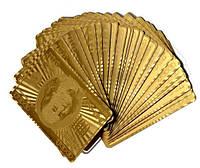 Карты игральные (Золото) Доллар