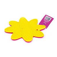 Подставка силиконовая под горячее с присосками в форме цветочка Fissman (AY-7247.HD), фото 1