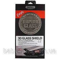 Закаленное защитное стекло Remax Caesar 3D для Iphone 7, черное