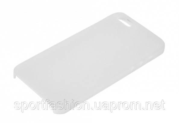 Ультратонкий матовый чехол накладка iPhone 5/5s white - Интернет-магазин Unitell в Украинке