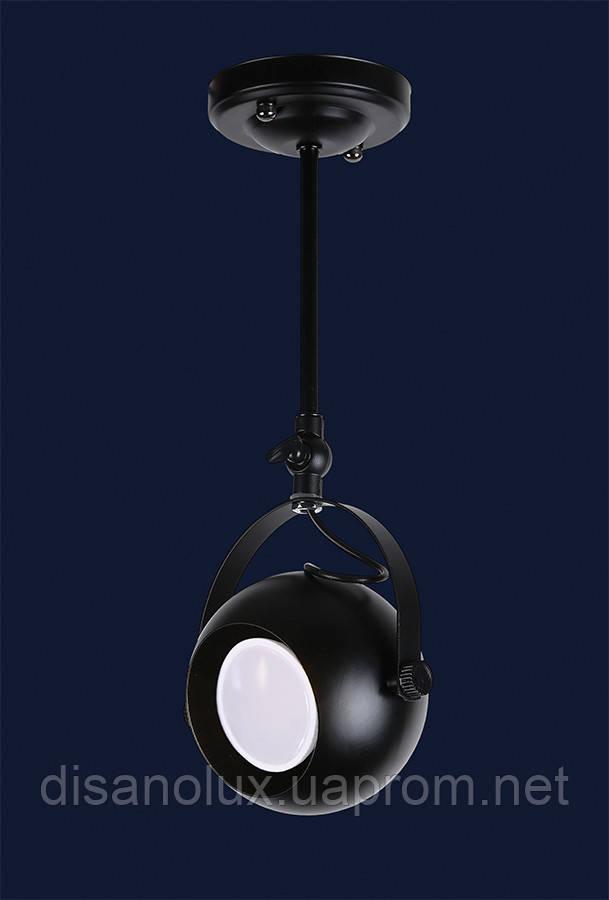 Светильник LOFT 7521209-1B  BK  накладной