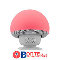 Водонепроницаемая Bluetooth колонка с микрофоном на присоске | Колонка в форме гриба