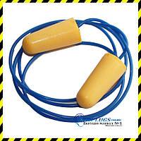 Беруши Earline со шнурком, SNR 36дБ. Англия