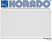 Стальной радиатор Korado тип 22 300*1000 нижнее подключение
