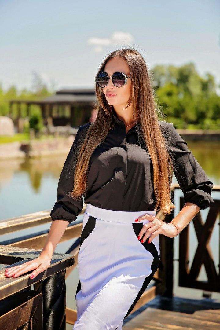 Комплект рубашка и юбка