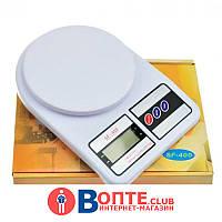 Весы кухонные электронные SF-400 (на 10 кг.)