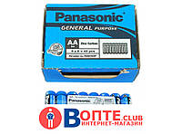 Батарейка Panasonic R06 пальчиковая AA 1.5V ( Панасоник )