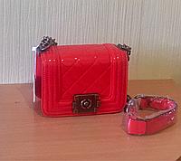 Сумка Chanel Boy Mini Flap red