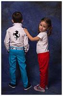"""Модельные брюки на мальчика и на девочку """"ЛЕН"""""""