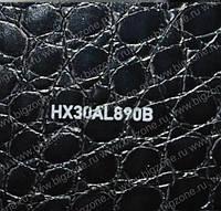 Авто пленка Hexis имитирующей кожу аллигатора (Черная)