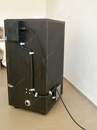 Универсальный коптильный шкаф для приготовления продуктов питания холодным и горячим способом копчения с функцией сушки и вяления.