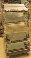 Изготовление тележек для хлеба и кондитерских изделий в Харькове.