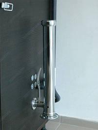 Двухуровневый универсальный электростатический коптильный шкаф с ионизационной сушкой для приготовления продуктов питания холодным и горячим способом копчения.