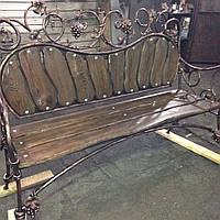 Кованая скамейка(Старий сад)