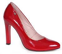 Туфли лаковые красные Лидер 2918.25