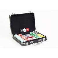 Набор для покера 21*38.5*6.5 см, 300 фишек с номиналом