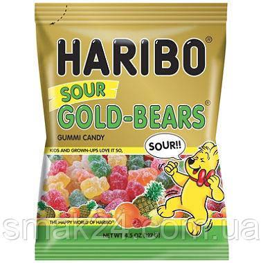 Желейные конфеты Haribo Goldbaren sauer( кислые мишки) Германия 200г
