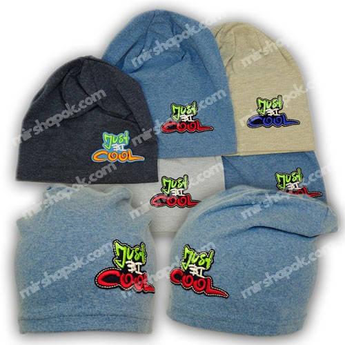 Детские шапки из трикотажа, 733