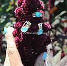 Комплект с голубыми опалами Синтия, фото 9
