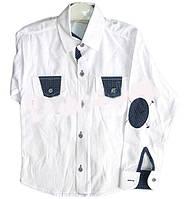 Детская рубашка для мальчика с длинным рукавом