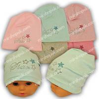 Трикотажные шапки для девочки, 765