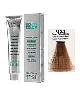 Краска для волос Echos Color 12/2 супер платиновый жемчужный