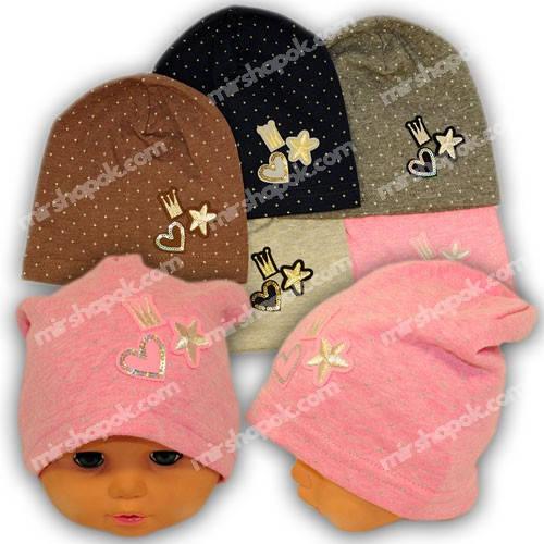 Трикотажные шапки для девочки, 769