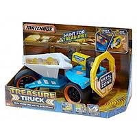 Большая машина грузовик - металлоискатель Matchbox Treasure Truck Metal Detector. Оригинал