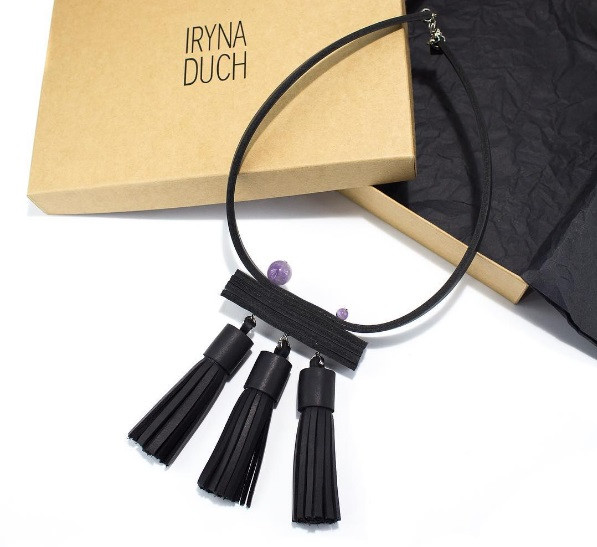 Наши коробочки для дизайнерских украшений Iryna Duch, Львов