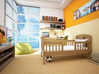 """Детская деревянная кровать """"Юниор 2"""""""