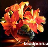 Алмазная вышивка Цветы