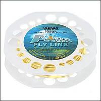 Шнур нахлыстовый Varivas Airs Fly Line Pro Spec (оранж.) (код 216-142178)