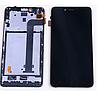 Дисплей (екран) для Xiaomi Redmi NOTE 2 ксиоми + тачскрін з передньою панеллю, колір чорний