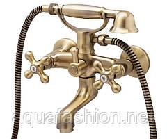 Бронзовый смеситель для ванны GENEBRE NEW REGENT CLASSIC Испания