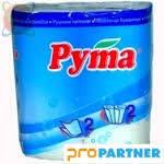 Полотенце бумажное белое в рулоне (2сл, 2рул.)