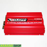 Автомобильный 6-и канальный усилитель звука Cougar 500.6 3000W