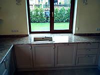 Кухонная столешница из мрамора и гранита