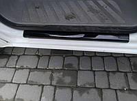 Volkswagen Crafter Защитный пластик на порожки 2 шт