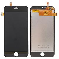 Оригинальный дисплей (модуль) + тачскрин (сенсор) для Blackview Ultra A6 (черный цвет)